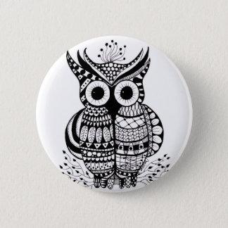 Owl Pinback Button