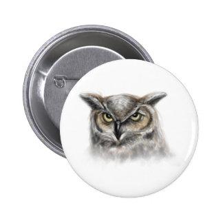 owl pinback buttons