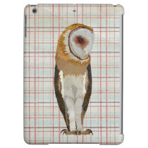 OWL PLAID COVER FOR iPad AIR