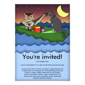 Owl Plus Pussycat, invitation