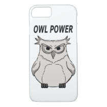 owl power iPhone 8/7 case