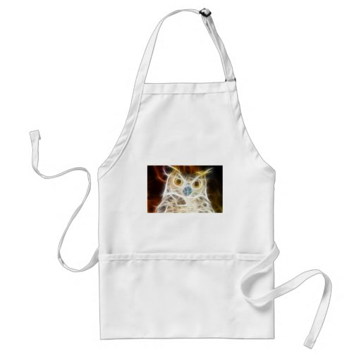 Owl Powerful Look Adult Apron