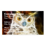 Owl Powerful Look Double-Sided Standard Business Cards (Pack Of 100)