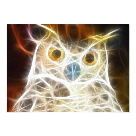 Owl Powerful Look Card