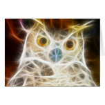 Owl Powerful Look Greeting Card