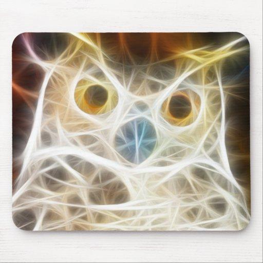 Owl Powerful Look Mousepad