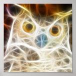 Owl Powerful Look Print