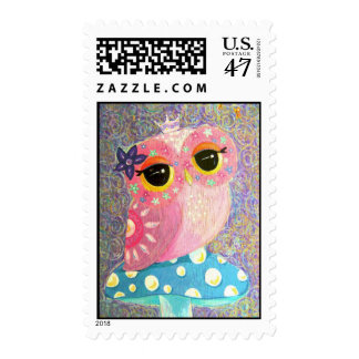 Owl Princess Fairy Postage
