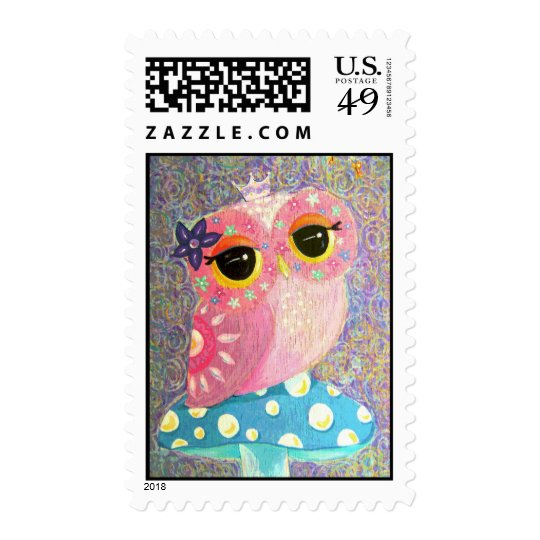 Owl Princess Fairy Postage