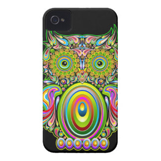 Owl Psychedelic Design BlackBerry Bold Cases