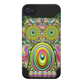 Owl Psychedelic Design BlackBerry Bold Cases