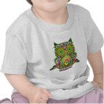 Owl Psychedelic Pop Art Tshirt