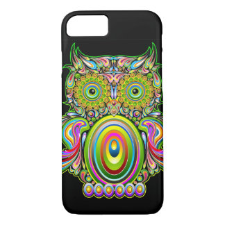 Owl Psychedelic Popart iPhone 7 case