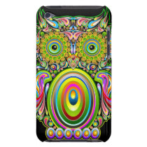 Owl Psychedelic Popart iPod Touch case