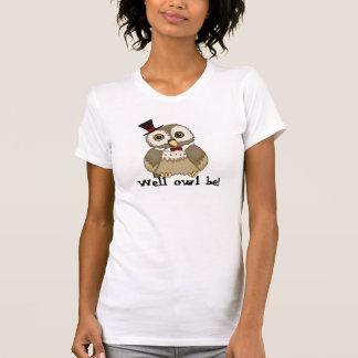owl pun tshirt