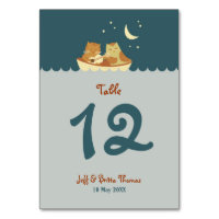 Owl & Pussycat Storybook Wedding (Sea Blue)