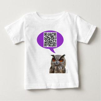 Owl QRCode Baby T-Shirt
