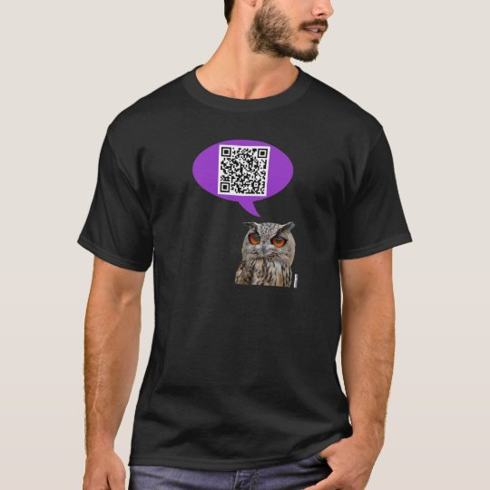 Owl QRCode T-Shirt