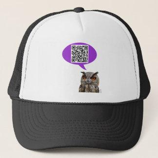 Owl QRCode Trucker Hat