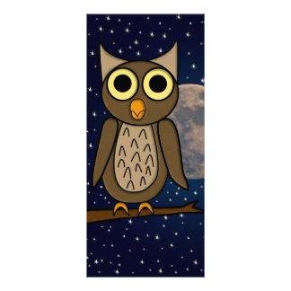 owl rack card