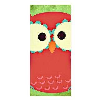 Owl Customized Rack Card