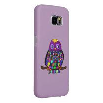 Owl Rainbow Samsung Galaxy S6 Case
