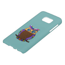 Owl Rainbow Samsung Galaxy S7 Case