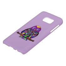 Owl Rainbow Samsung Galaxy S7 Case