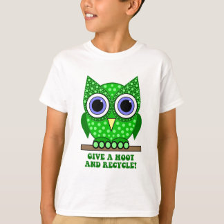 owl recycle T-Shirt