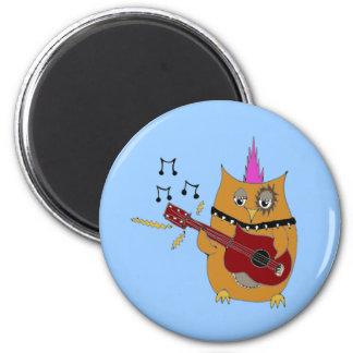 Owl Right Now Baby Rocker Owl Magnet