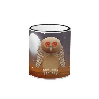 Owl Ringer Coffee Mug