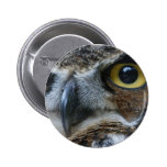 Owl Round Button