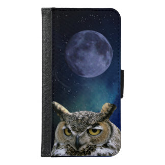 Owl Samsung Galaxy S6 Wallet Case