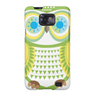 Owl Samsung Green Large Galaxy S2 Cover