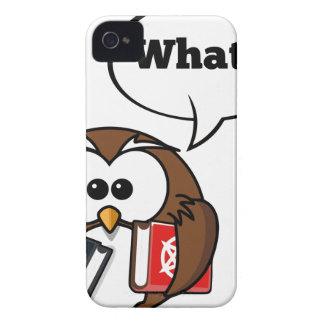 Owl Says What Case-Mate iPhone 4 Case