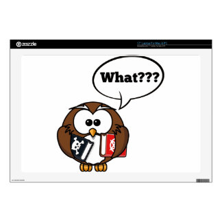 Owl Says What Skins For Laptops