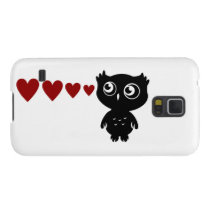 Owl Sees Love I Galaxy S5 Case