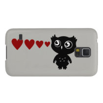 Owl Sees Love II Galaxy S5 Cover