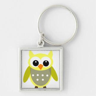 Owl Seven Keychain
