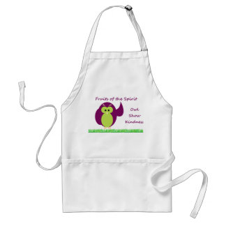 Owl Show Kindness Standard Apron