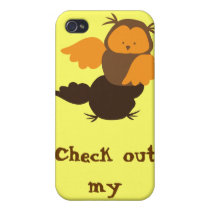 Owl showoff cover for iPhone 4