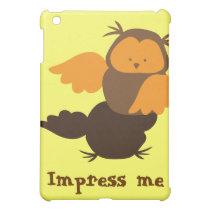 Owl showoff iPad mini case