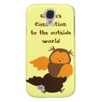 Owl showoff samsung galaxy s4 cover