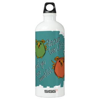 owl sisters aluminum water bottle