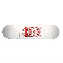 Owl Skateboard Deck