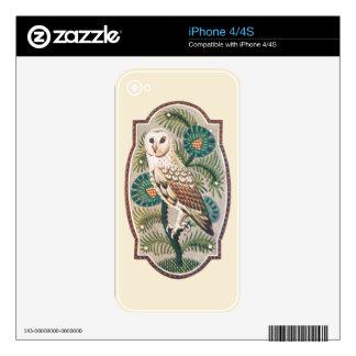 Owl iPhone 4 Decals