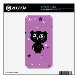 Owl Skin For The iPhone 4