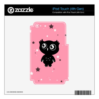 Owl Skins For iPod Touch 4G