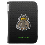 Owl; Sleek Case For The Kindle