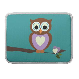 Owl Sleeve For MacBooks